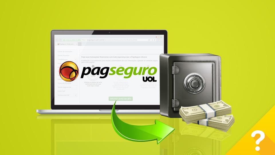 Dinheiro das vendas no PagSeguro para conta bancária