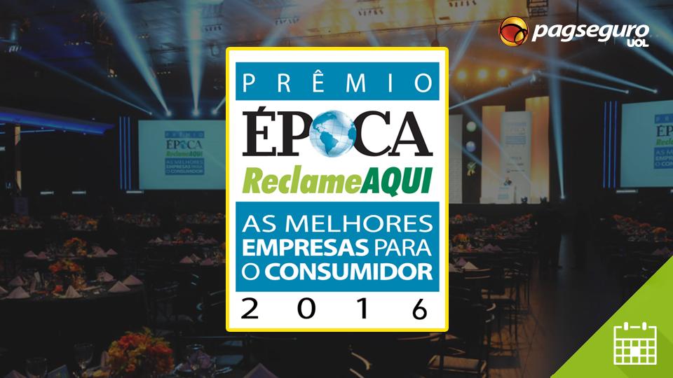 Vote PagSeguro no Prêmio Reclame Aqui