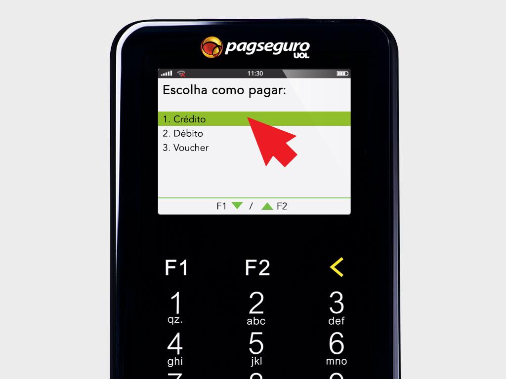 Opção Crédito - Moderninha