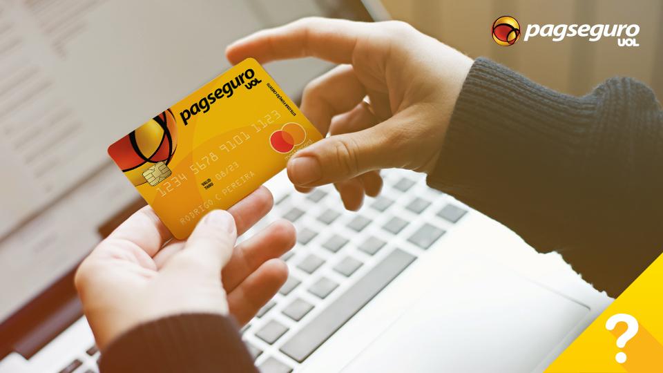 usar o cartão pré pago pagseguro para comprar na internet