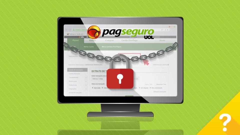 Por que meu saldo está bloqueado no PagSeguro?