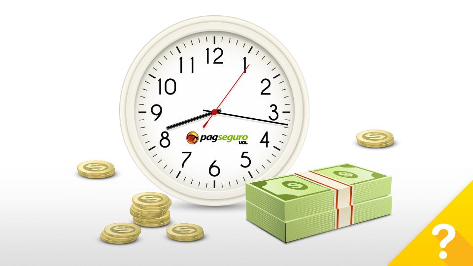 como receber o dinheiro das vendas com PagSeguro